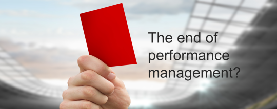 The end of performance management?